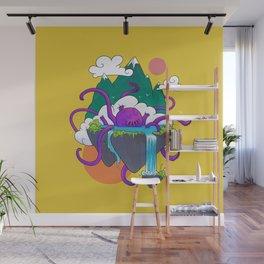 Kraken Soup - Yellow Wall Mural
