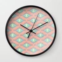 dallas Wall Clocks featuring Dallas by EverMore