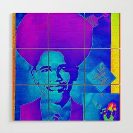 OBAMA for life Wood Wall Art