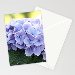 Purple hydrangea(1) Stationery Cards