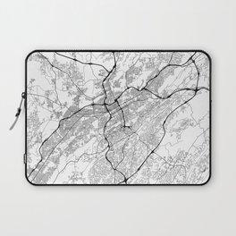 Minimal City Maps - Map Of Birmingham, Alabama, United States Laptop Sleeve