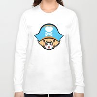 pagan Long Sleeve T-shirts featuring Captain Pagan by Pagan Holladay