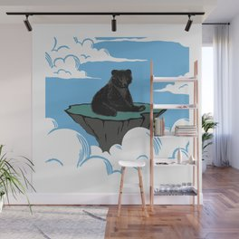 Lonely Bear Wall Mural