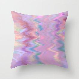 Abstract Sound Throw Pillow