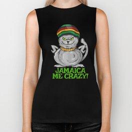 Jamaican-me-crazy Jamaican Patois Slang Tourists Reggae Lovers Rasta Roots Culture Biker Tank