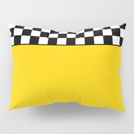 NY Taxi Cab Cosplay Pillow Sham
