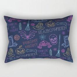 Halloween. It's a terrible night Rectangular Pillow