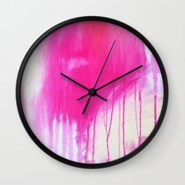 Strawberry Kisses Wall Clock