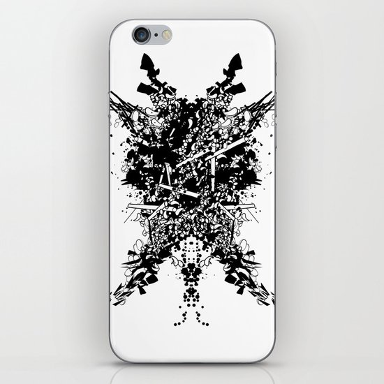 Abstract no. 7 iPhone & iPod Skin