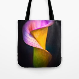Calla Lilly Tote Bag