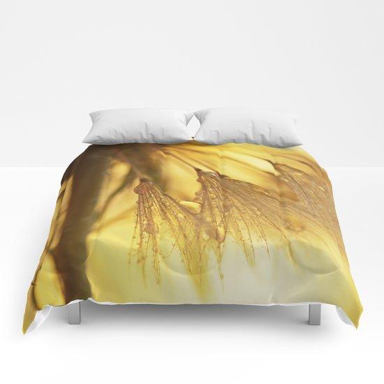 Dandelion Light Comforters