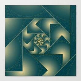ZS AD Spiral Drift V 1.3.1. S6 Canvas Print