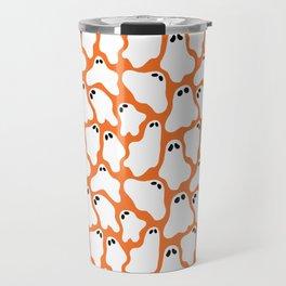 Ghosties (Orange) Travel Mug