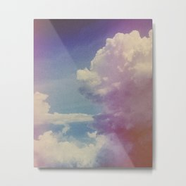 Dream of Clouds Metal Print