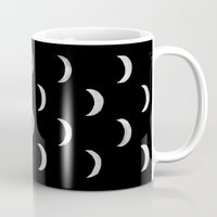 lunar Mugs featuring Lunar by bows & arrows