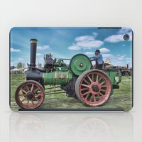 jem iPad Cases featuring Jem General Purpose Engine by Avril Harris