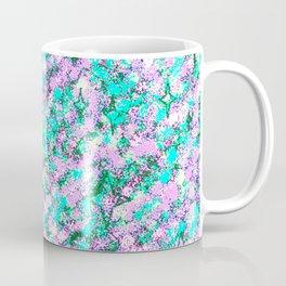 Totally Awesome Spray Paint Lavender Aqua Green Coffee Mug