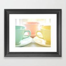 Tea for Three Framed Art Print