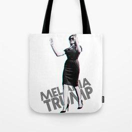 Melania Trump: 3D Tote Bag