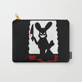 Bloody Bunny Carry-All Pouch