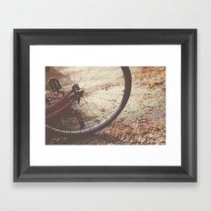 Bike Spokes  Framed Art Print