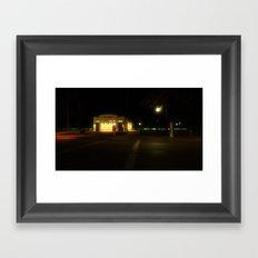 14th street Framed Art Print
