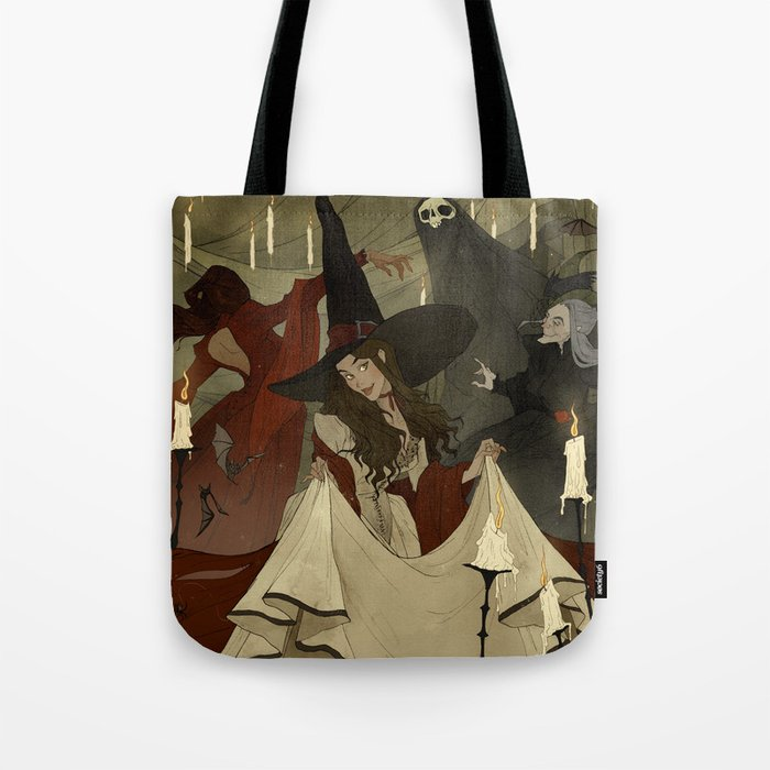 The Witches Ball Tote Bag