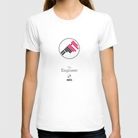 engineer T-shirts featuring The Engineer by MASS collective