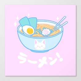 Cute Ramen Canvas Print