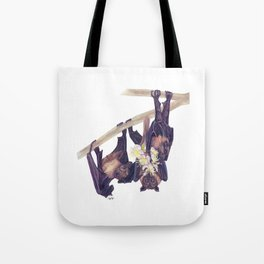 Flying Foxes Tote Bag