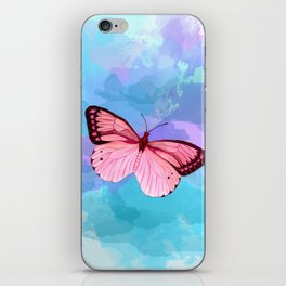 Strawberry Fluff iPhone Skin