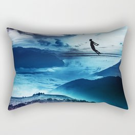 End of isolation Rectangular Pillow