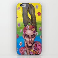 death cab for cutie iPhone & iPod Skins featuring cutie by madild
