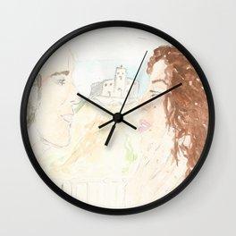 Love in Tropea Wall Clock