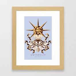 Dark Sun Gwyndolin Framed Art Print