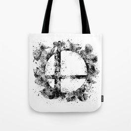 Super Smash Bros Ink Splatter Tote Bag