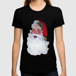 Vintage Style Jolly Santa  T-shirt