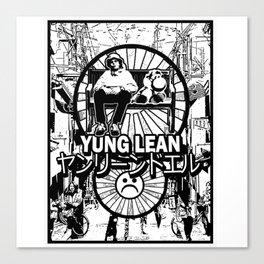 Yung Lean - Yoshi City Canvas Print