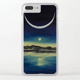Supernatural Eclipse Clear iPhone Case