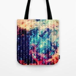 Galaxy Arrows Tote Bag