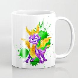 spyro dragon watercolor art Coffee Mug