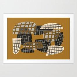 Grids 2 Art Print