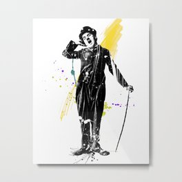 charlie chaplin 05 Metal Print