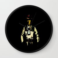 melissa smith Wall Clocks featuring smith by Crockettsky