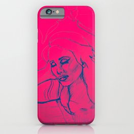 Lana Pink iPhone Case