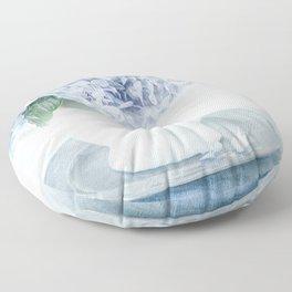 Hydrangea Abundance Floor Pillow