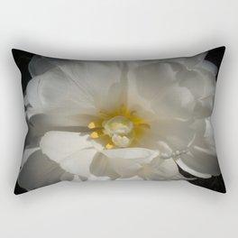 Double White Tulip by Teresa Thompson Rectangular Pillow