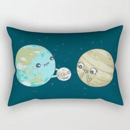 I'd Give you the Moon Rectangular Pillow