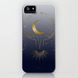 La Lune Magique The Magic Moon iPhone Case