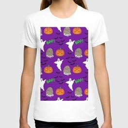 Spooky halloween print T-shirt